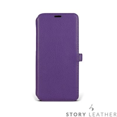 STORYLEATHER SAMSUNG S9 / S9+ 硬殼式側翻 客製化皮...