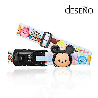 Disney TSUMTSUM附行李秤束帶-米奇