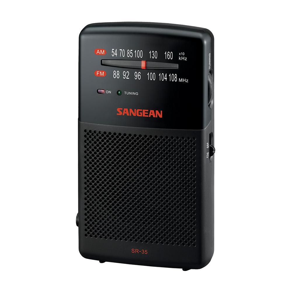 SANGEAN 二波段掌上型收音機 SR35