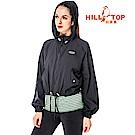【hilltop山頂鳥】女款超輕量吸濕排汗抗UV外套S02FB8-黑美人