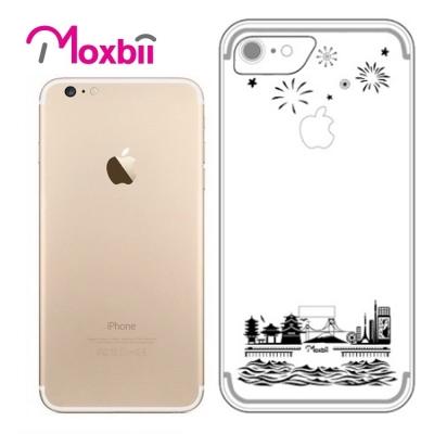 Moxbii iPhone 7 4.7吋 simpOcase光雕殼-花漾東京