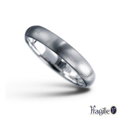彩糖鑽工坊 幸福指輪系列 925銀戒(4MM寬)