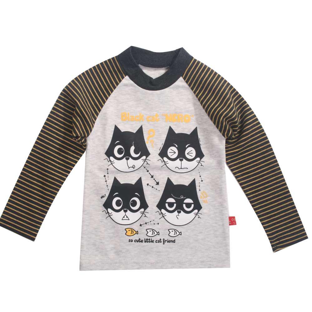 魔法Baby台灣製兒童長袖T恤 k42320