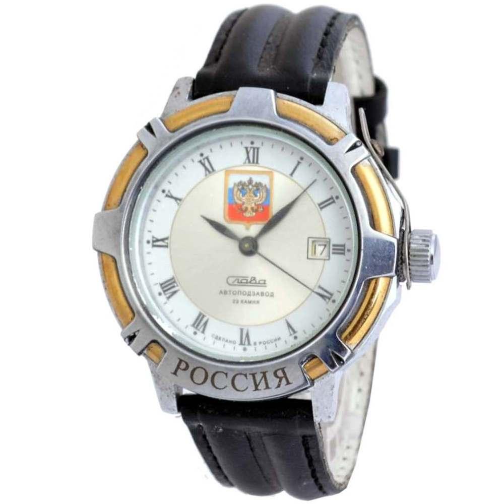 俄羅斯Slava軍官機械錶-白/40mm