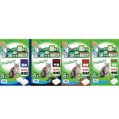 日本IRIS豆腐貓砂6L