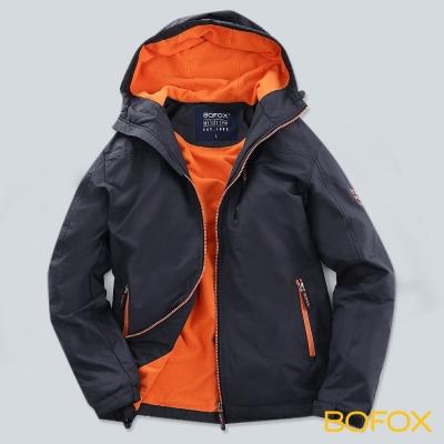 BOFOX WILDLIFE機能防風連帽外套-冒險橘
