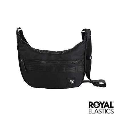 RoyalElastics - 經典彎月斜背包 - Knight 闇黑騎士系列
