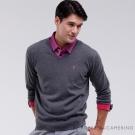 ROBERTA諾貝達  高質感 100%純美麗諾羊毛衣 灰色
