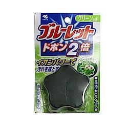 小林製藥 星星藍流馬桶清潔錠-綠色香草香(120g)