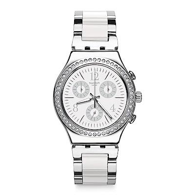 Swatch 就是SWATCH MADE IN WHITE 白色製造手錶