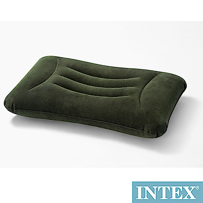 INTEX 多用途《人體工學》植絨充氣枕/護腰枕(68670)