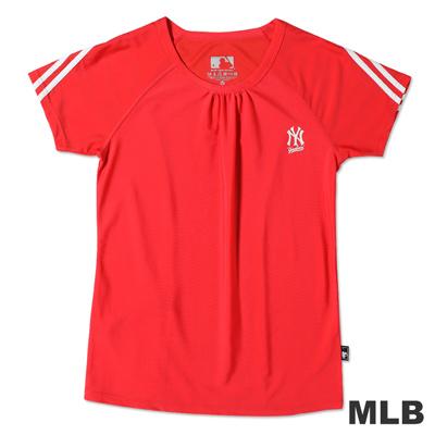 MLB-紐約洋基隊運動舒適上衣-粉紅(女)