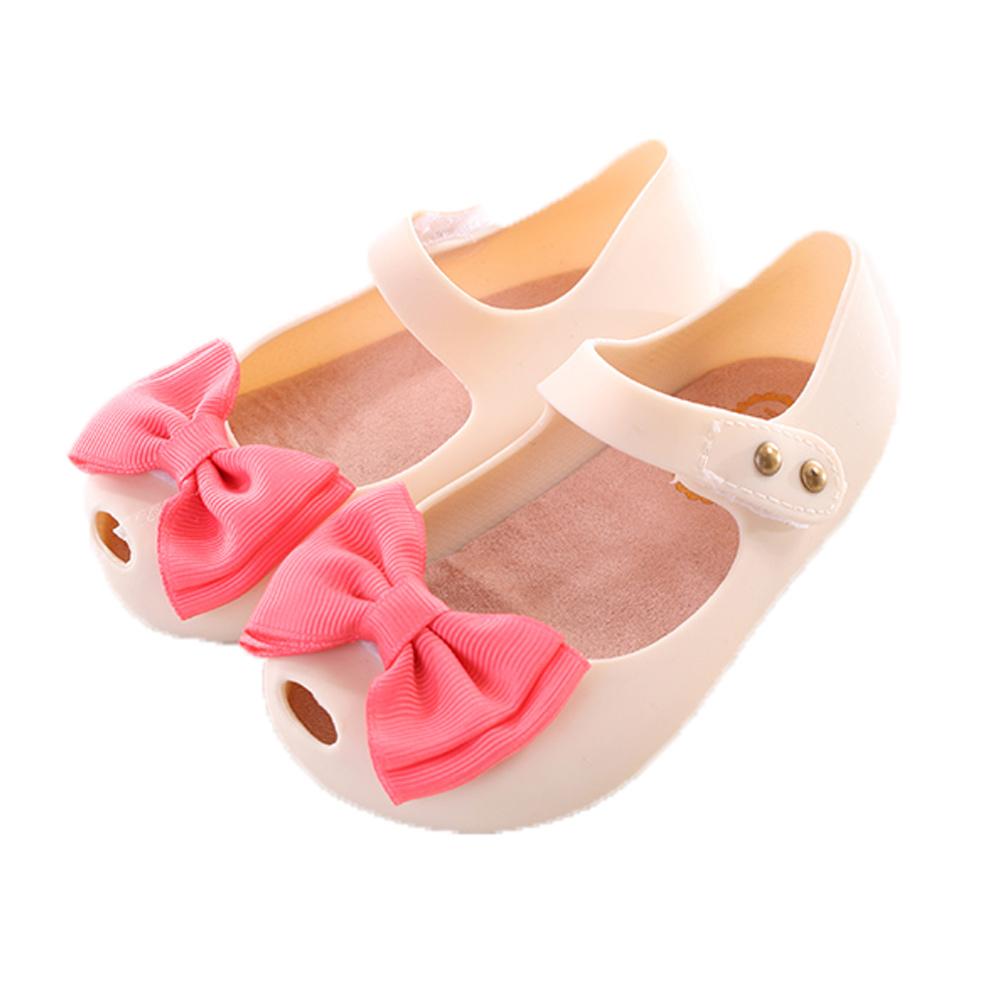 蝴蝶結輕便娃娃鞋 米 sh9941