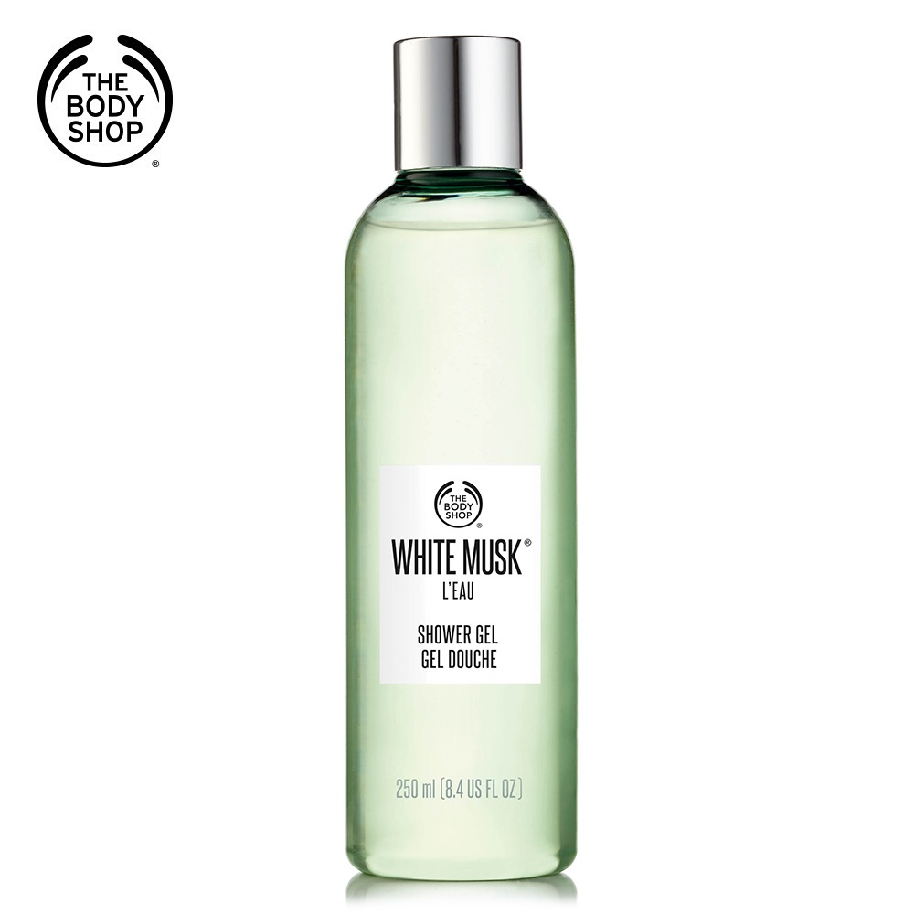 The Body Shop 綠麝香晨露沐浴膠250ML(售價已折)