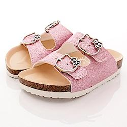 HelloKitty童鞋 金蔥涼鞋款 EI17957 粉 (中小童段)T1