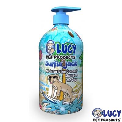LUCY 美國原裝 寵物天然沐浴精 衝浪傑克 500ml