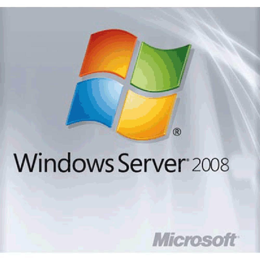 Windows Server 2008  英文標準隨機版 - 5人授權 (64位元)