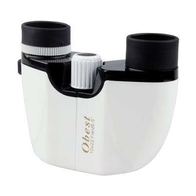 Obest 10×22 高清雙筒望遠鏡(中央調焦+右眼微調)
