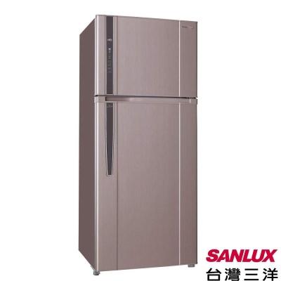 台灣三洋-SANLUX-480公升變頻雙門電冰箱