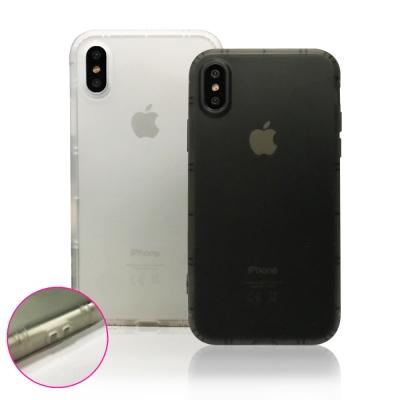 水漾 iPhone X 磨砂霧面氣墊式空壓保護殼
