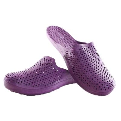 超軟Q舒適輕量拖鞋 (2雙一組) 紫 sd0063 魔法Baby