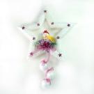 聖誕五角星泡棉壁飾吊飾