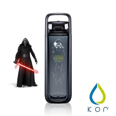 美國KOR water One星戰立體水瓶750ml凱羅忍黑色