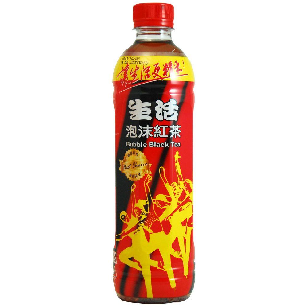 生活 泡沫紅茶(590mlx4入)