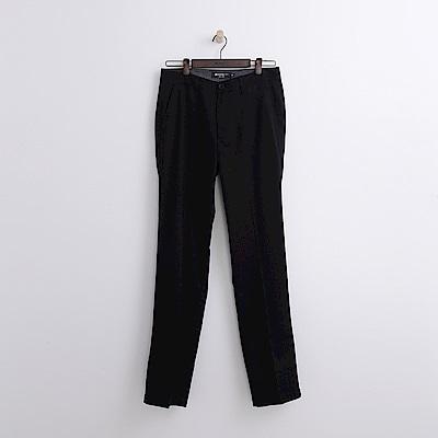 Hang Ten - 男裝 - 純色抗皺長褲-黑色