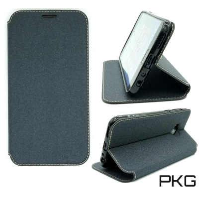PKG ASUS ZenFone4 MAX ZC554KL 側翻式磨砂表層皮套