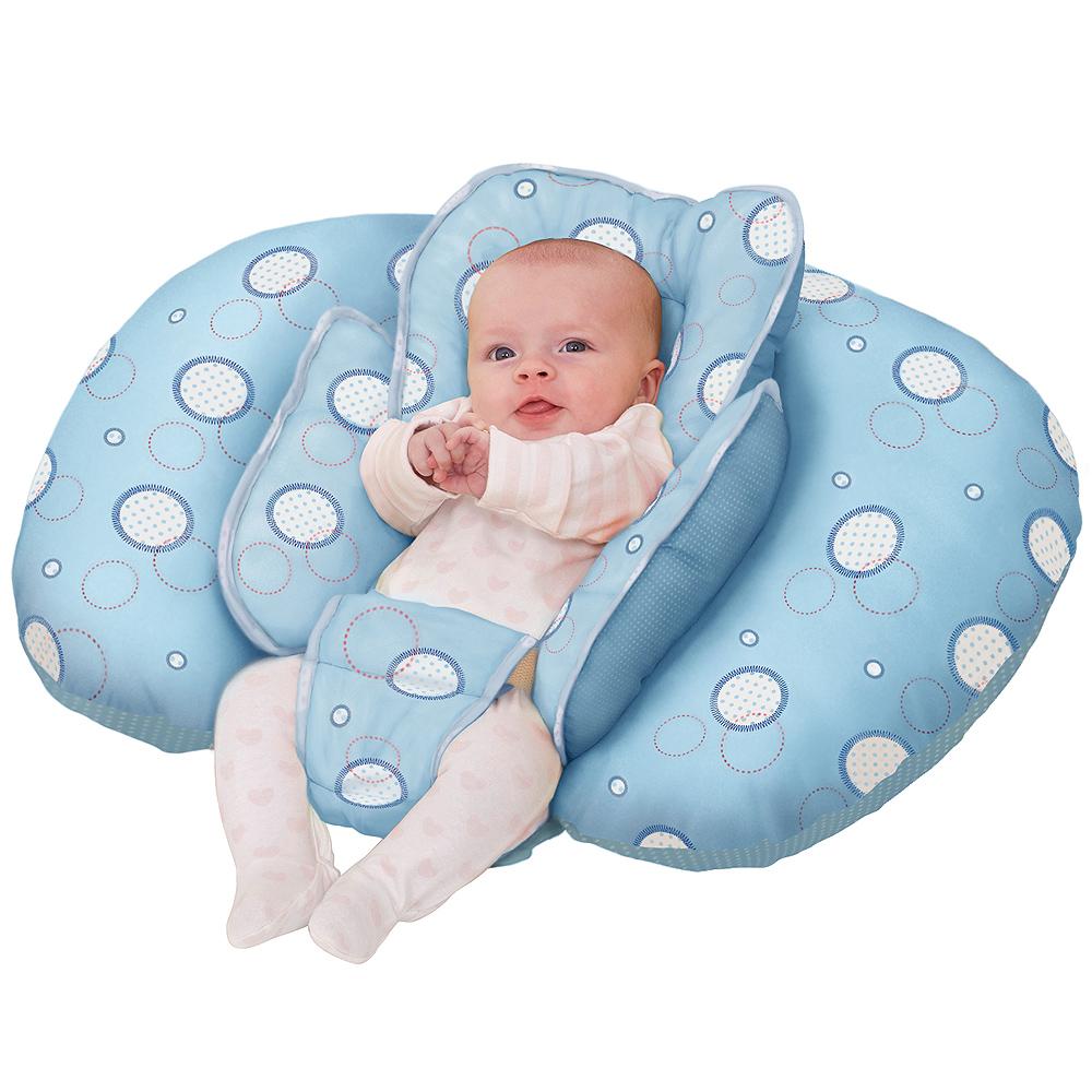 ClevaMama 十合一育嬰枕-藍色