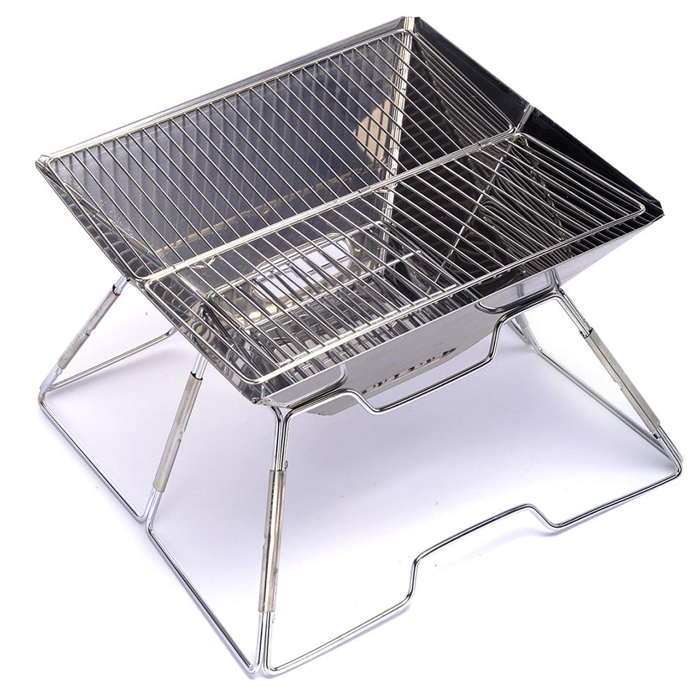 韓國SELPA 不鏽鋼多功能烤肉架 焚火台 營火 炊事 燒烤