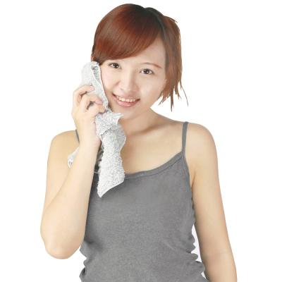 源之氣 竹炭極超細纖維柔軟小方巾30*32cm/6入 RM-10017