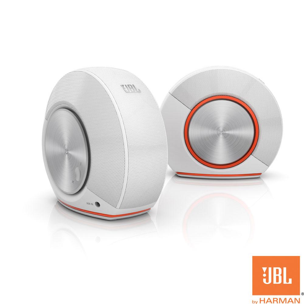 JBL PEBBLES 電腦喇叭-白色