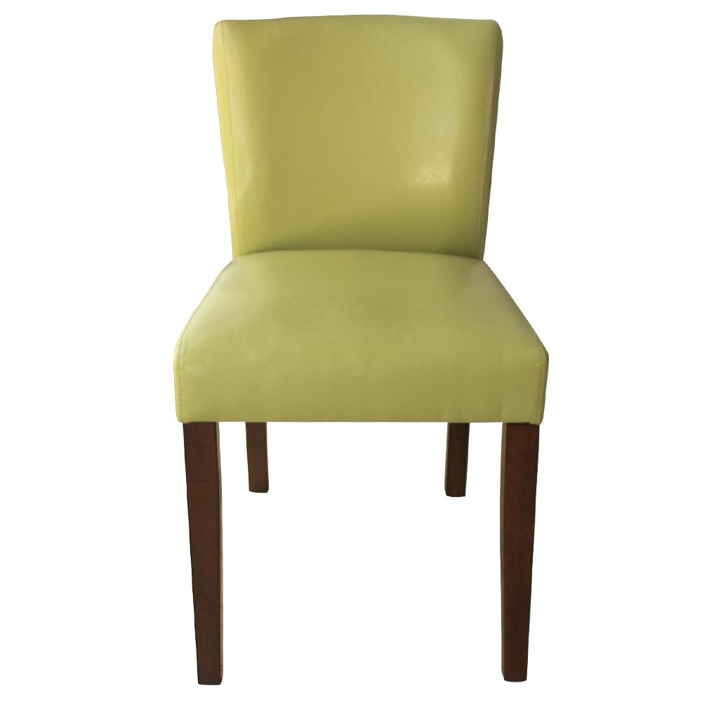 ROSA羅莎 卡登馬進口皮休閒椅/餐椅-綠色