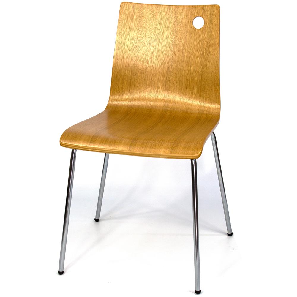 愛倫國度 - 2入-Wonderful系列曲木椅-BY-PY501-OAK-2入