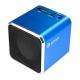 KINYO【音樂大師】音樂盒讀卡喇叭MPS-372-藍色系 product thumbnail 1