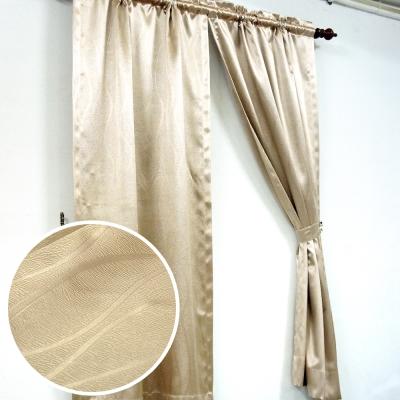 布安於室-曲線壓紋3明治遮光窗簾-7色款