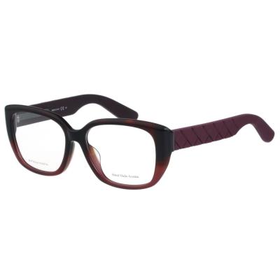 BOTTEGA VENETA光學眼鏡 (琥珀配紅色)BV310F
