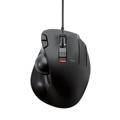ELECOM 有線拇指軌跡球滑鼠-進化版