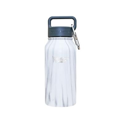 Healthy Human寬口不鏽鋼保冷保溫瓶473ml石白色