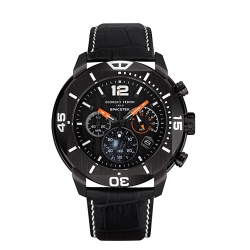 GIORGIO FEDON 1919 太空探索者系列 腕錶-黑/48mm