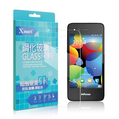 X mart InFocus M2 強化0.26mm耐磨防指紋玻璃保護貼