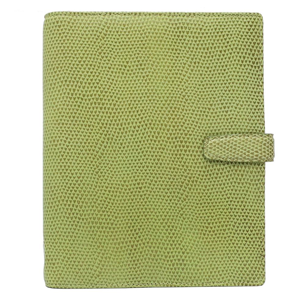 filofax 變色龍CHAMELEON  A5筆記本-香草綠色