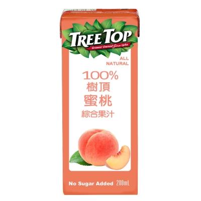 TreeTop樹頂 蜜桃綜合果汁(200mlx6入)