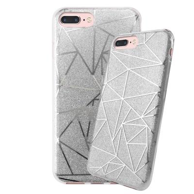 LUCCIDA iPhone8 Plus幾何星辰軟式保護殼