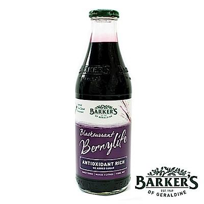 綠邦Barkers 黑醋栗鮮果露4瓶(710ml/瓶)