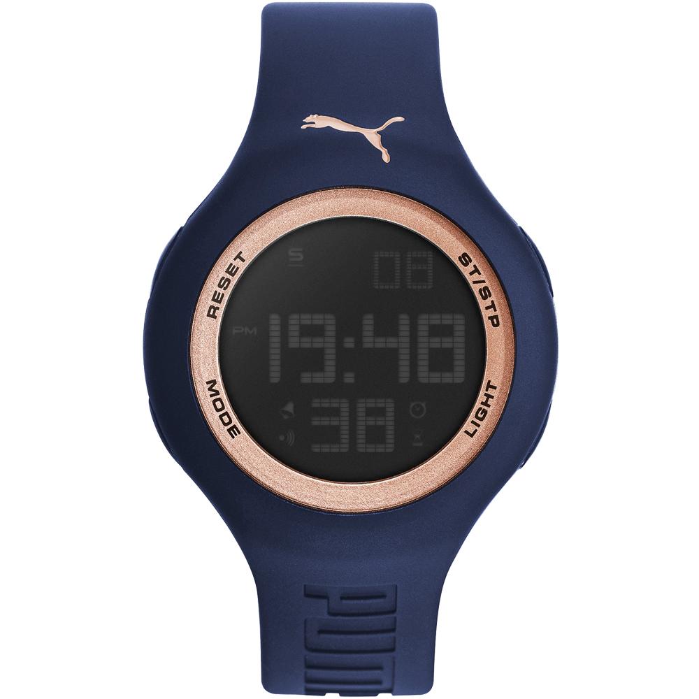 PUMA 陽光信號電子腕錶-PU910801045/45mm