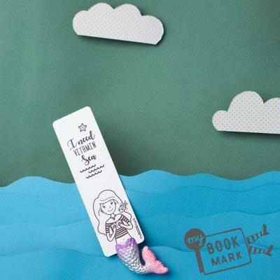 禮物myBookmark手工書籤-夢幻美人魚寶貝