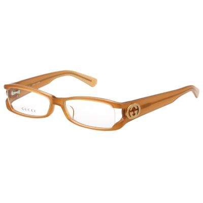 GUCCI-時尚光學眼鏡(粉杏色)